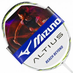 【MIZUNO】ALTIUS 06白果綠 4U6好上手均衡型羽球拍