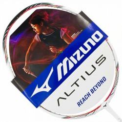【MIZUNO】ALTIUS 06白莓紅 4U6好上手均衡型羽球拍