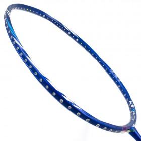 【MIZUNO】ALTRAX 87i藍銀 獨特螺旋框型靈活操控5U輕量羽球拍