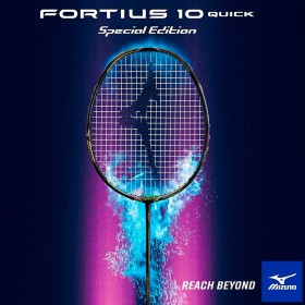 【MIZUNO】FORTIUS 10QUICK SPE奧運限定版印尼男雙SETIAWAN使用羽球拍(JP版)