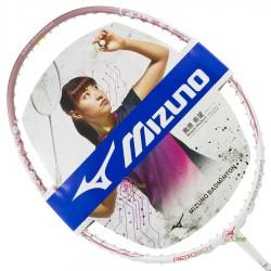 【MIZUNO】FIORIA LITE粉白 輕量易操控5U女生通用型羽球拍