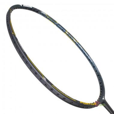 【MIZUNO】FORTIUS 50 SPIRIT黑灰金 4U5強力攻擊型羽球拍