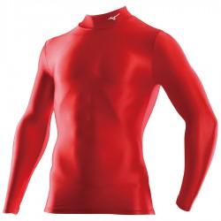 【MIZUNO】BIO GEAR長袖壓縮緊身衣32MA815062紅
