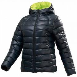 【MIZUNO】可水洗不變形Techfill絕佳保暖女外套32ME085509黑