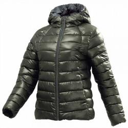 【MIZUNO】可水洗不變形Techfill絕佳保暖女外套32ME085538綠