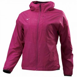 【MIZUNO】奈米鋁熱能反射超保暖女風衣外套32TE078267紫紅