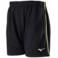 【MIZUNO】72TB8A0209黑 羽球針織短褲