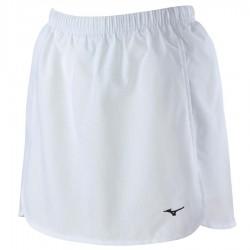 【MIZUNO】羽球彈性內裡褲裙72TB8C0101白