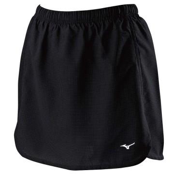 【MIZUNO】羽球彈性內裡褲裙72TB8C0109黑