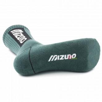 【MIZUNO】1906運動時尚男中筒襪D2TX060507Q軍綠