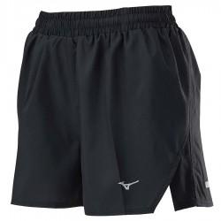 【MIZUNO】路跑&運動女短褲J2TB025199黑黑