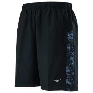 【MIZUNO】路跑&運動男短褲J2TB055399黑黑