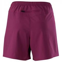 【MIZUNO】路跑&運動抗UV女短褲J2TB075468紫紅