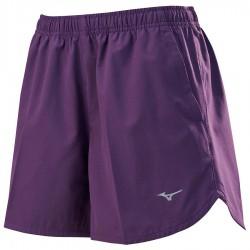 【MIZUNO】路跑&運動女短褲J2TB875967紫