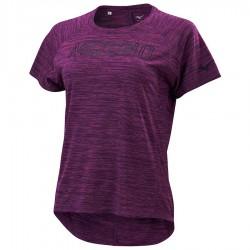 【MIZUNO】瑜珈後擺加長短袖K2TA070268深紫