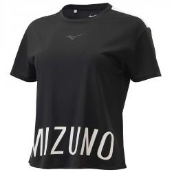 【MIZUNO】瑜珈短袖K2TA070309黑