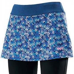 【MIZUNO】瑜珈外裙長褲K2TB070181藍綠