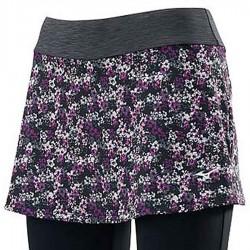 【MIZUNO】瑜珈外裙長褲K2TB070197紫黑
