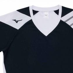 【MIZUNO】排球&運動短袖V2TA0G1609黑白