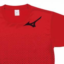 【MIZUNO】排球&運動短袖V2TA0G1862紅黑