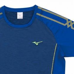 【MIZUNO】排球&運動短袖V2TA0G1914法國藍