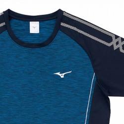【MIZUNO】排球&運動短袖V2TA0G1933深丈青