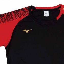 【MIZUNO】排球&運動短袖V2TA9G1709黑紅