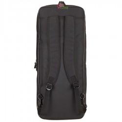 【MIZUNO】73JD000109黑 側後背二用矩形6支裝超優質拍袋