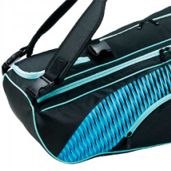 【MIZUNO】73TD051121黑天藍 旗艦款6支入裝羽球拍袋