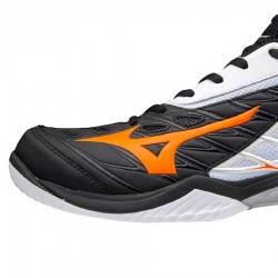 【MIZUNO】WAVE CLAW白橘 寬楦羽球鞋