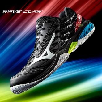【MIZUNO】WAVE CLAW黑 寬楦羽球鞋