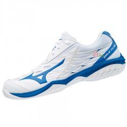 【MIZUNO】WAVE CLAW白 寬楦羽球鞋