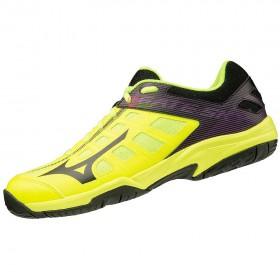 【MIZUNO】GATE SKY 2螢黃黑 訓練級羽球鞋