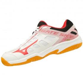 【MIZUNO】GATE SKY 2白粉 訓練級羽球鞋