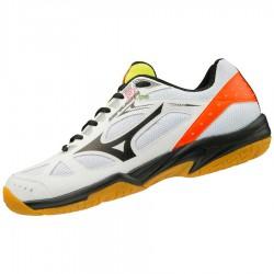 【MIZUNO】SKY BLASTER 白黑紅 訓練級羽球鞋