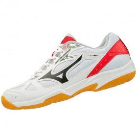 【MIZUNO】SKY BLASTER 白紅 訓練級羽球鞋