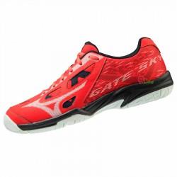 【MIZUNO】GATE SKY PLUS紅 寬楦羽球鞋