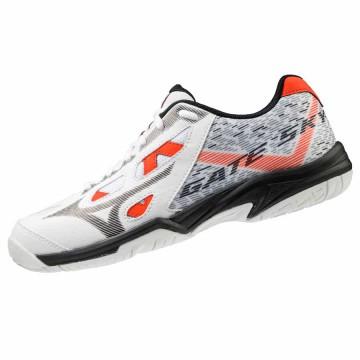 【MIZUNO】GATE SKY PLUS白紅 寬楦羽球鞋