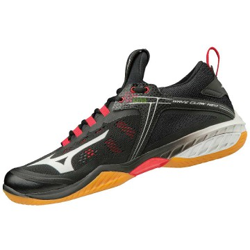 【MIZUNO】WAVE CLAW NEO黑 寬楦羽球鞋