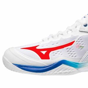 【MIZUNO】WAVE CLAW NEO白紅藍 雙色寬楦羽球鞋