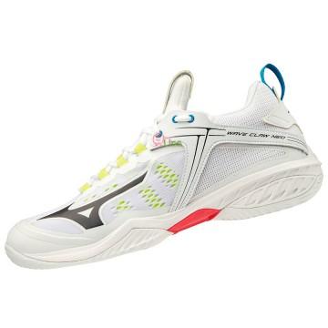 【MIZUNO】WAVE CLAW NEO白 寬楦羽球鞋