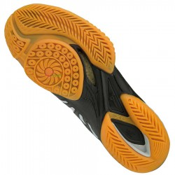 【MIZUNO】WAVE CLAW黑白 高彈更快輕量速度型羽球鞋