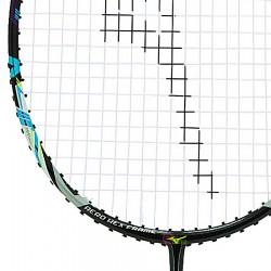 【MIZUNO】TURBOBLADE 581六角破風拍框低空阻軟中管4U中階通用型羽球拍