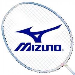 【MIZUNO】FIORIA OS粉藍頭偏重3U女生中階選手羽球拍