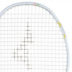 【MIZUNO】ALTIUS LITE白藍軟中管4U6細握把女生中階羽球拍