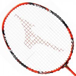 【MIZUNO】TECHNOBLADE 603黑螢橘4U攻防全能型穿線羽球拍
