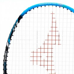 【MIZUNO】TECHNOBLADE 603黑螢藍4U攻防全能型穿線羽球拍