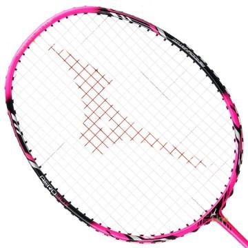 【MIZUNO】TECHNOBLADE 603黑螢粉紅4U攻防全能型穿線羽球拍