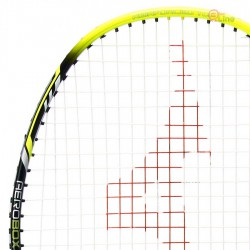 【MIZUNO】TECHNOBLADE 603黑螢黃4U攻防全能型穿線羽球拍