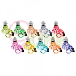 【RSL】亮彩鑲鑽SUPREME羽球鑰匙圈(10色)送禮收藏好選擇